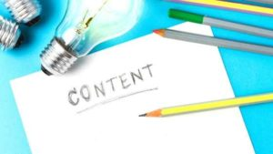 The importance of writing content